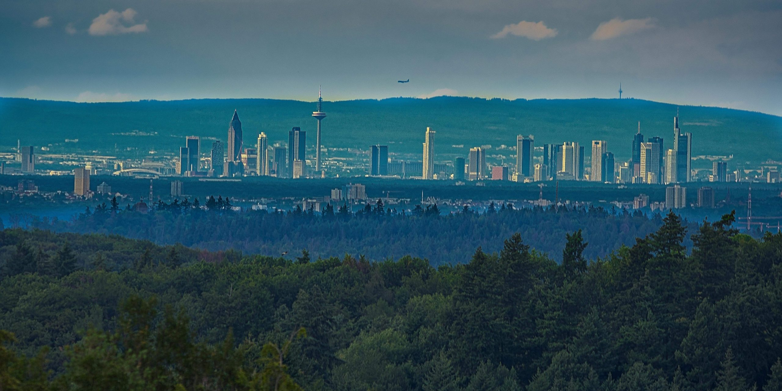 Frankfurt immer im Blick und trotzdem im Grünen wohnen